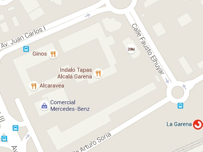¿Comno llegar a GARENA PLAZA en Alcalá de Henares?