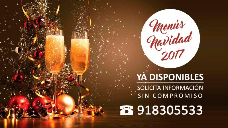 Menús Navidad 2017 en Restaurante Cervecería Cruz Blanca