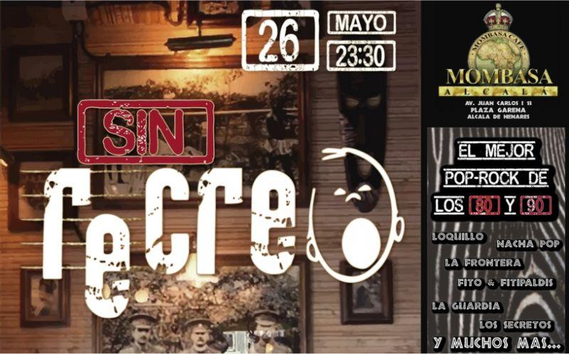 Viernes 26 mayo 23:30 Mombasa alcalá de Henares, concierto sin recreo