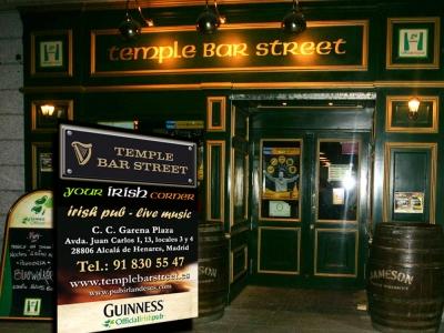 Temple Bar Street, Tu rincón de Irlanda en Alcalá.
