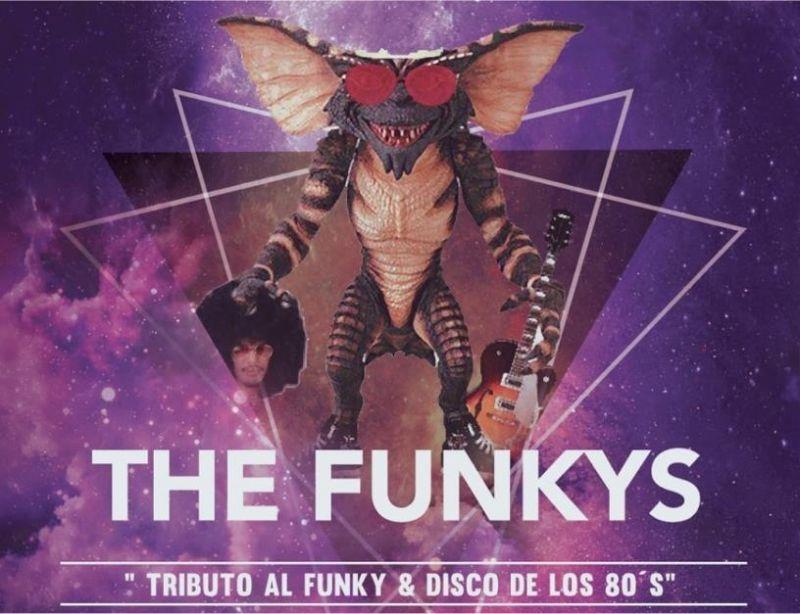 THE FUNKYS en concierto Sala Mombasa Alcalá, 2 de Junio 2017