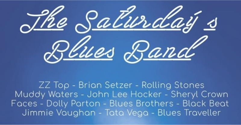 The Saturday's Blues Band en concierto, viernes 19 de Mayo 2017