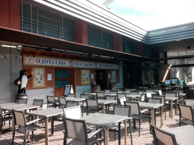 Cervecería Restaurante Cruz Blanca Alcalá en Garena Plaza Álcala de Henares