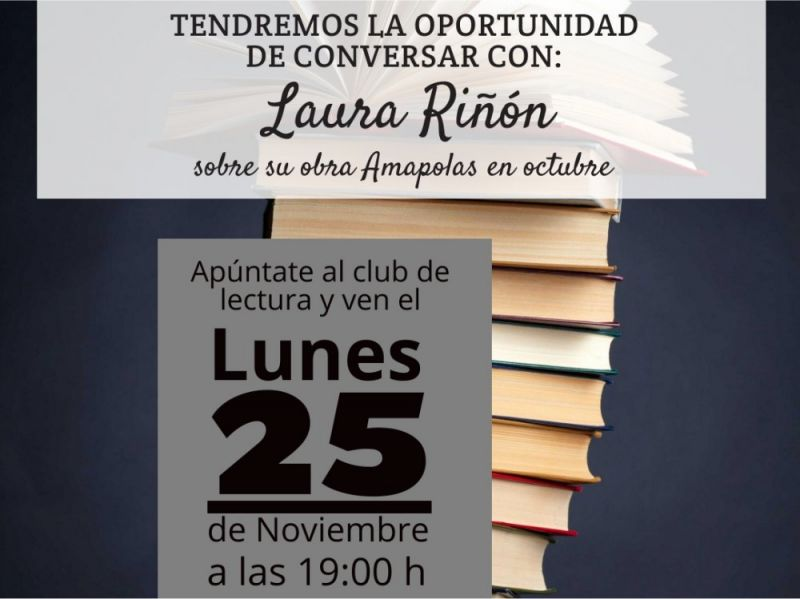 Amapolas en octubre de Laura Riñon