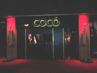 COCÓ, Discoteca, bar de copas