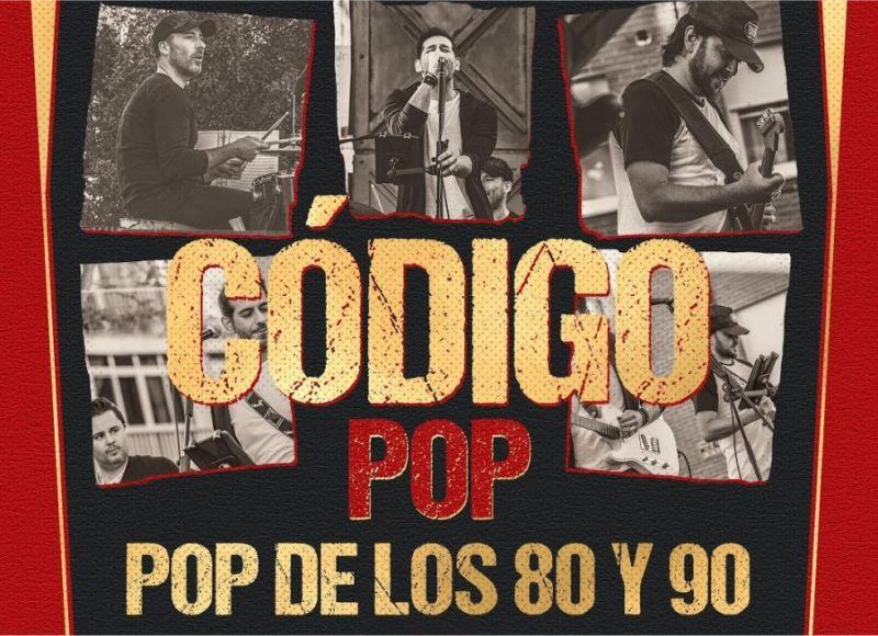 Concierto de Código POP, las mejores canciones en español de la época.