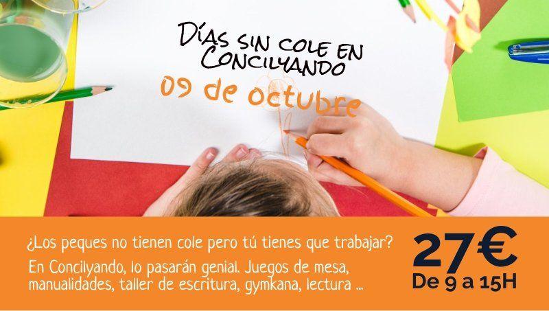 dÍAS SIN COLE EN CONCILYANDO 9 OCTUBRE 2019