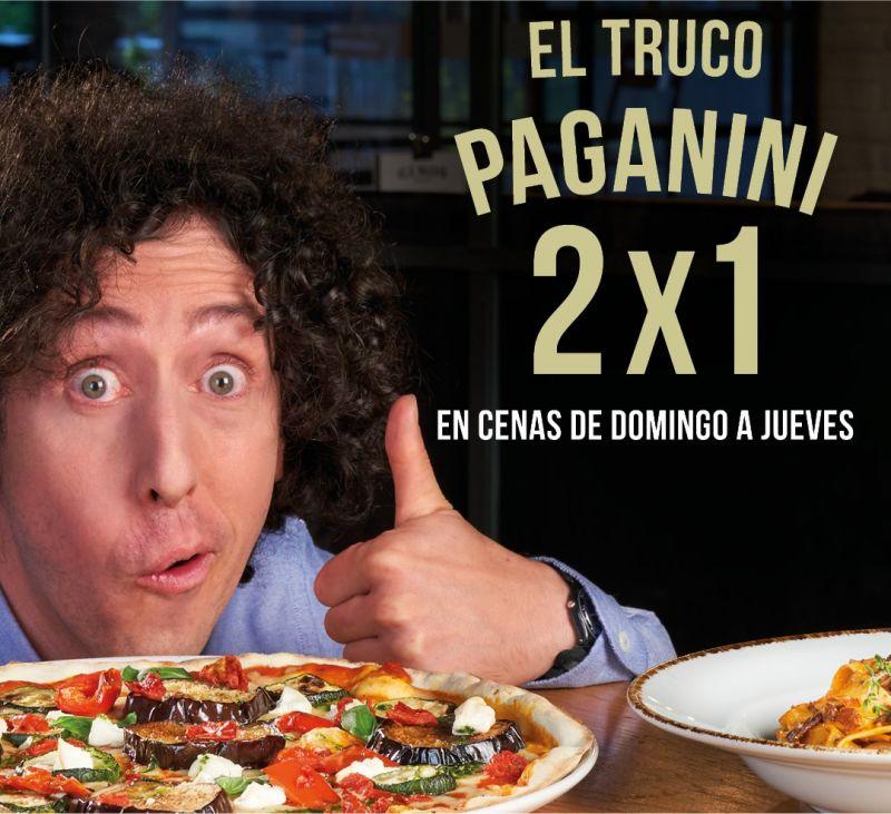 El Truco Paganini ¡2x1 en cenas!. Ginos