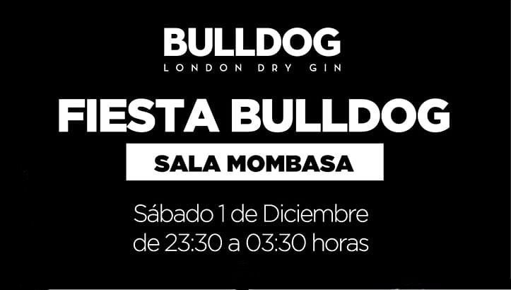 ¡Este sábado tenemos otro evento de Bullgog London Dry Gin !