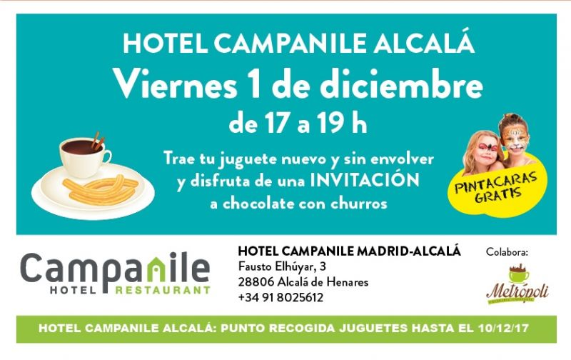 Evento solidario Trae un juguete y... Hotel Campanile