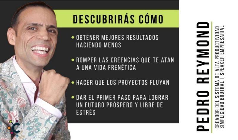Gana más haciendo menos, de esto tendremos la oportunidad de charlar con Pedro Reymond.