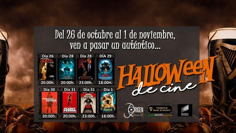 Halloween de cine 2017 en Temple Bar Street Alcalá de Henares Madrid
