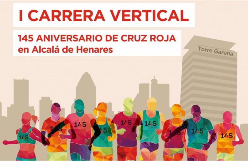 I Carrera Vertical Torregarena 145 Aniversario Cruz Roja Alcalá