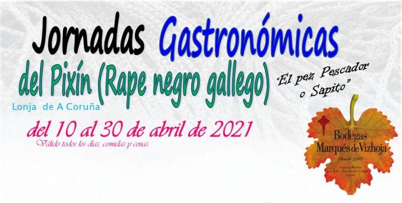 Jornadas Gastronómicas del Pixín, abril 2021