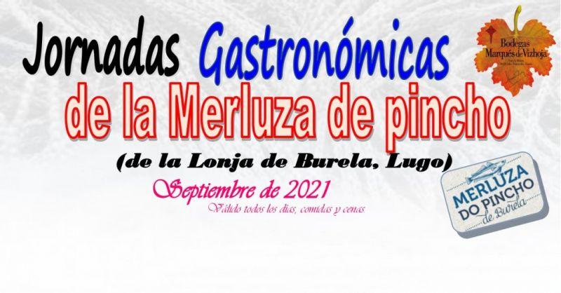 Jornadas Gastronómicas Jornadas Gastronómicas de la merluza de pincho, septiembre 2021