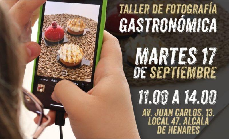 Inscríbete en la sexta edición del Taller de Fotografía Gastronómico de la mano de @ekipao @asifuephotography y @madriddowntown con la colaboración de @campanilehotelsspain #Alcalá y @concilyando_coworking.
