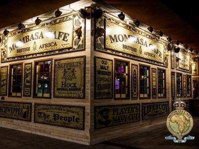 Mombasa, Bar de copas