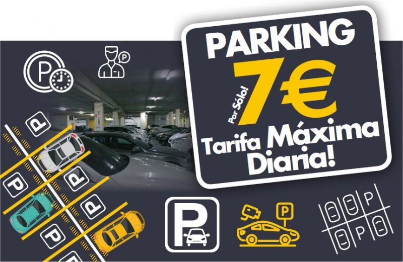 Nueva tarifa máxima del parking Garena Plaza