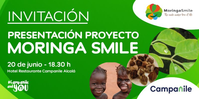 Invitación al la presentación proyecto Moringa Smile