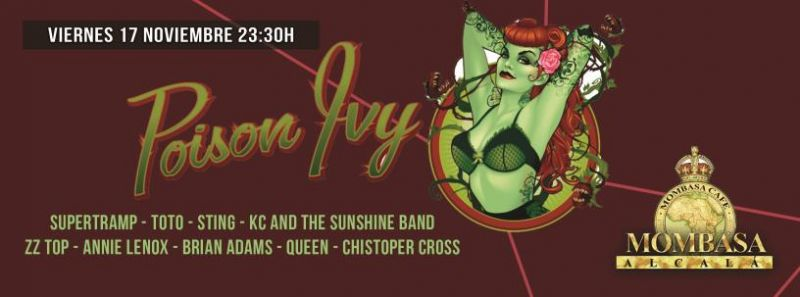 Poison Luy en concierto 17 de Noviembre 2017 a las 23:00h en Mombasa Alcalá.