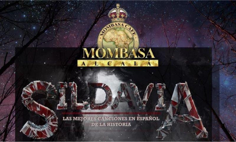 Sildavia en concierto 3 de Noviembre 2017 en Mombasa Alcalá, las mejores canciones en español de la historia