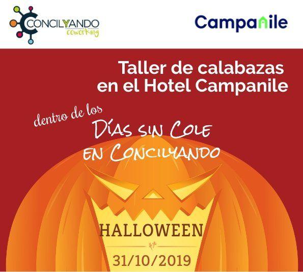 Taller de calabazas, Halloween 2019 en Alcalá de Henares