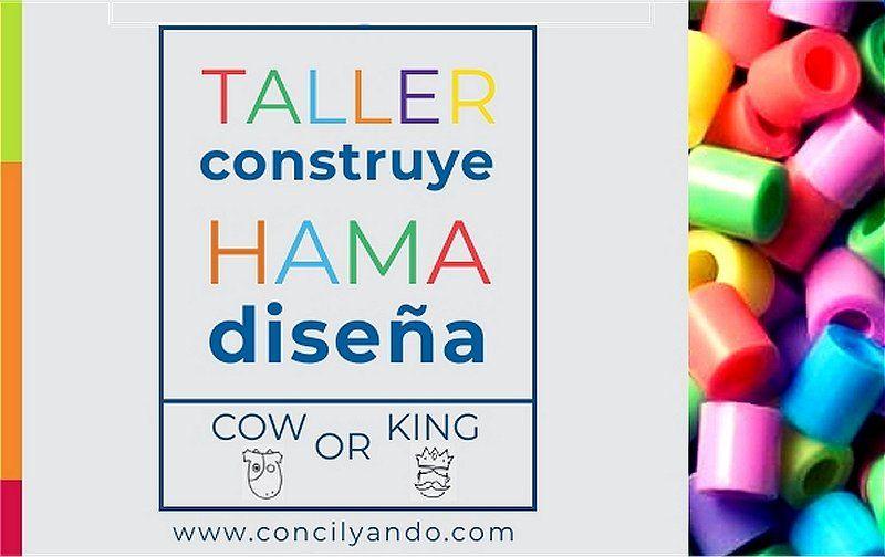 Os presentamos nuestro taller de HAMA BEADS para niñ@s de 6 a 12 años que tendrá lugar el domingo 24 de marzo a las 17h en Concilyando.