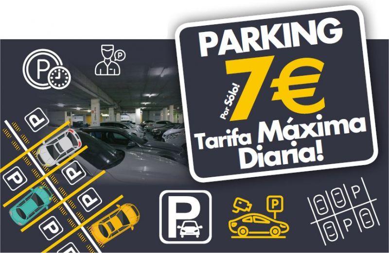 Tarifa parking Garena Plaza