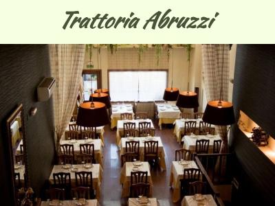 Trattoria Abruzzi, Restaurante Italiano