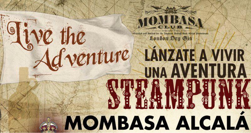 Vive la aventura Steampunk con un Mombasa London Dry Gin