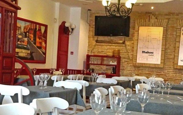 El Cuenco de Tina Alcalá de Henares interior restaurante
