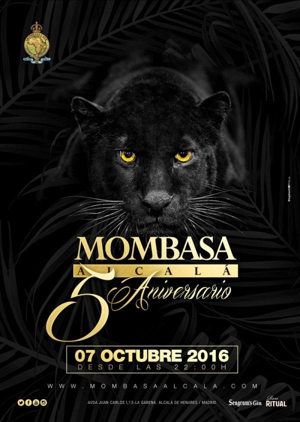 5º aniversario de Mombasa